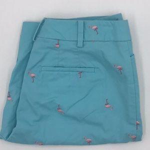 Talbots Bermuda shorts pink flamingo size 2P